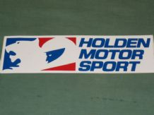 HOLDEN MOTOR SPORT original sticker 7x2""